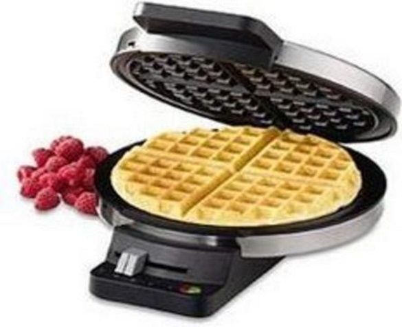 Best waffle maker no. 5. Cuisinart WMR-CA Round Classic Waffle Maker. Nothing flashy – just very good waffles at a terrific price. T