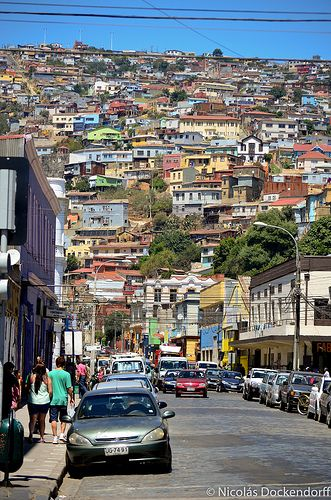 Valparaiso, Chile - Explore the World with Travel Nerd Nici, one Country at a Time. http://TravelNerdNici.com