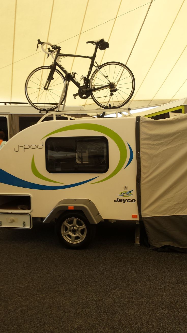 The all NEW 2015 #Jayco J-Pod. #Melbourne Caravan & Camping Show