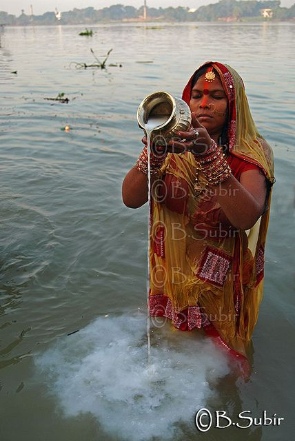 Devoted prayer, India