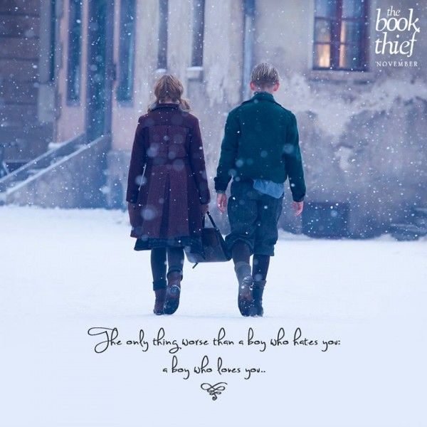 I love this pic and quote from The Book Thief! #TheBookThief