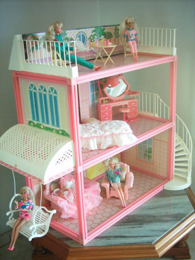 E a casa da Barbie DE VERDADE, mais ainda. | 20 brinquedos que você quis muito ganhar nos Natais passados