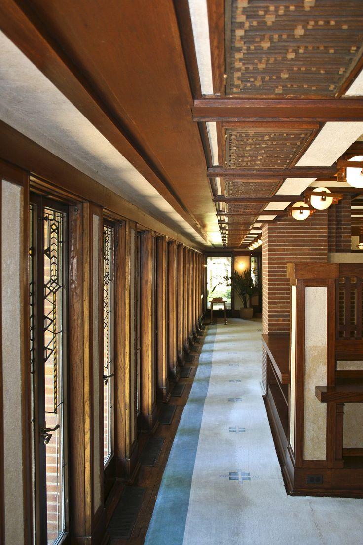 Les 25 meilleures id es concernant robie house sur - Frank lloyd wright architecture organique ...