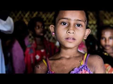 Rohingya Children in Bangladesh   Portraits