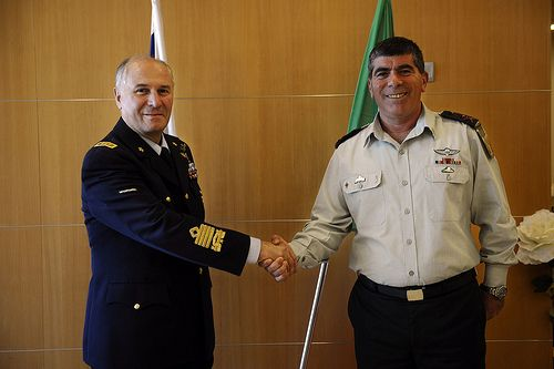 Chief of Defense Staff of Italy in Israel, Dec 2010 - Find the latest Israel cartoons and the latest news on Israel and the Middle East at http://www.israelnewsreport.net/chief-of-defense-staff-of-italy-in-israel-dec-2010/