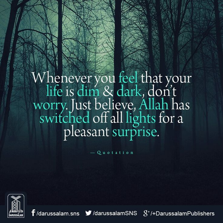 Don't feel low have faith in Allah.