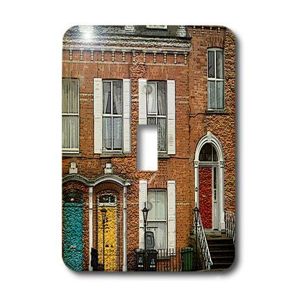 3dRose lsp_44125_1 An Awesome Building Showing The Colorful Dublin Doors in Ireland Textured and Done in Two Finishes Single Toggle Switch 3dRose http://www.amazon.com/dp/B007PKNE2Y/ref=cm_sw_r_pi_dp_wl5Zwb1H69601