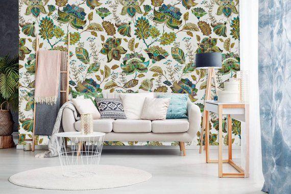 Oriental Muralprint Painting Wallpaperwall Decalremovable Etsy Living Room Scandinavian Living Room Diy Living Room Designs