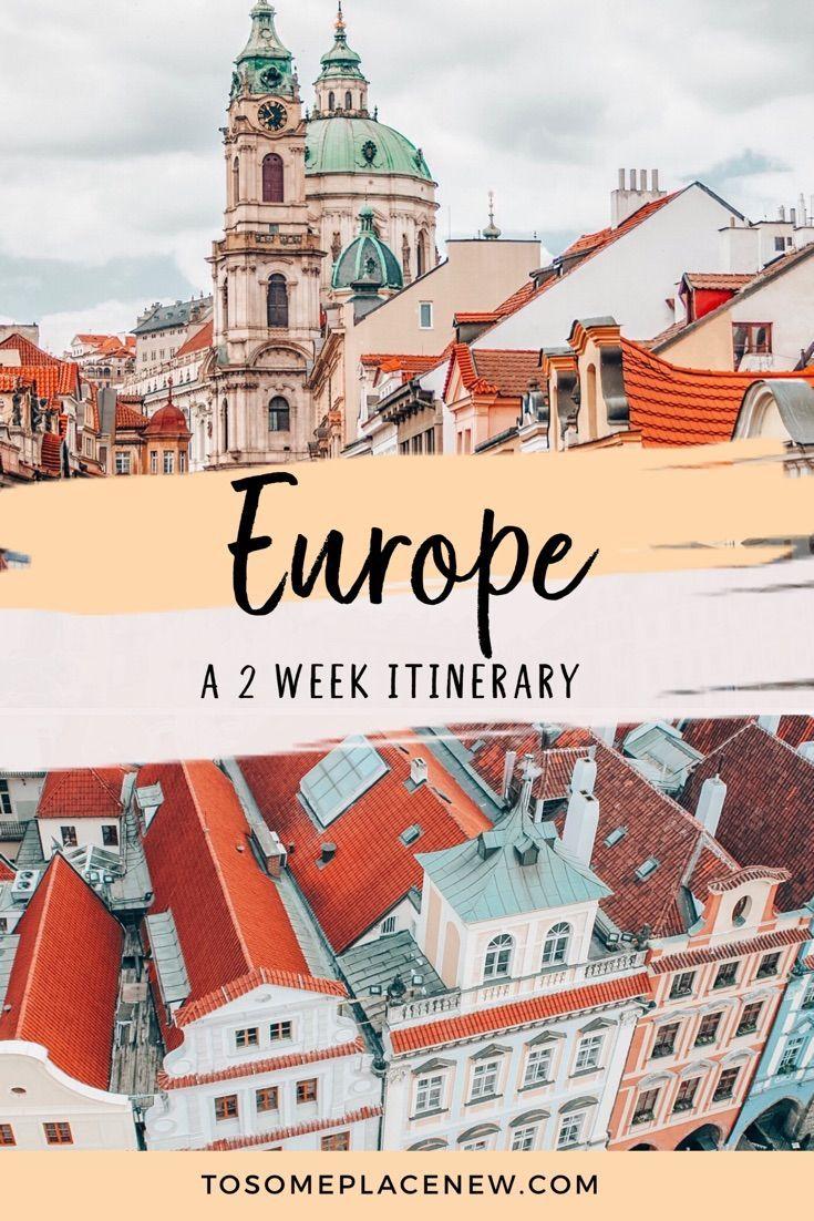 Central Europe Itinerary 2 weeks: Munich Prague Vienna Budapest Bratislava