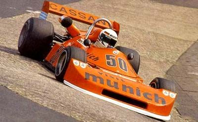 Manfred Winkelhock in his Cassani-Ralt RT1