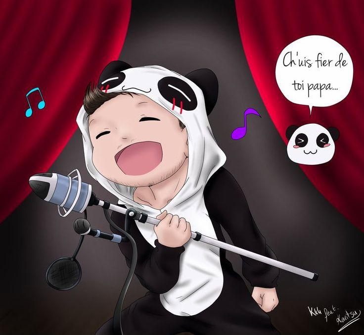 [Collab] Maitre Panda- Salut les Geeks by Kiarei44.deviantart.com on @DeviantArt