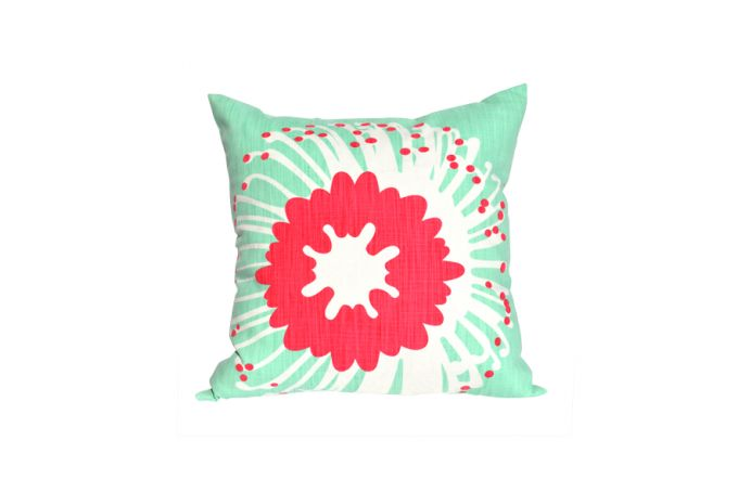 Pin-cushion protea themed cushion cover by i Spy