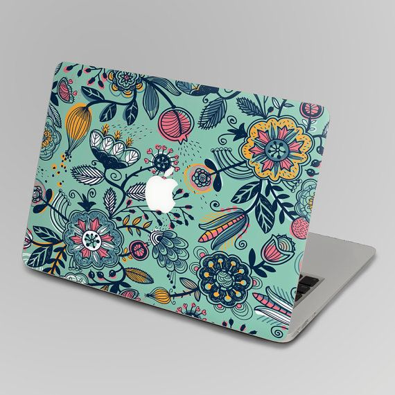 Flower back cover decal mac pro decals stickers sticker by FindFun, $16.00