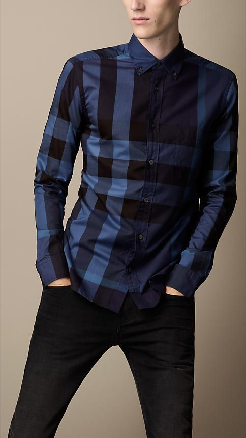 Exploded Check Cotton Shirt | Burberry