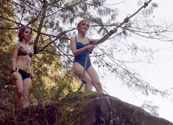 Paloma Kwiatkowski as Cody Brennan and Olivia Cooke as Emma Decody - BATES MOTEL