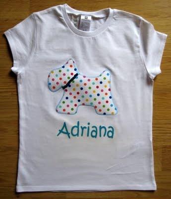 Saraibartesania: Camisetas con aplicaciones de tela