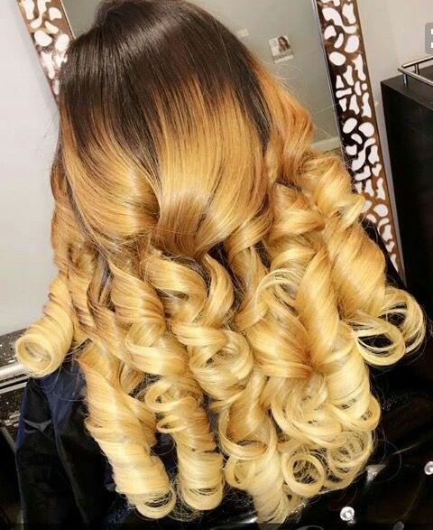 Colored curls