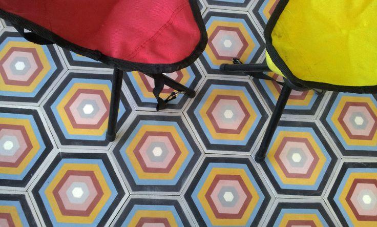 rabat hexagonal cement tiles