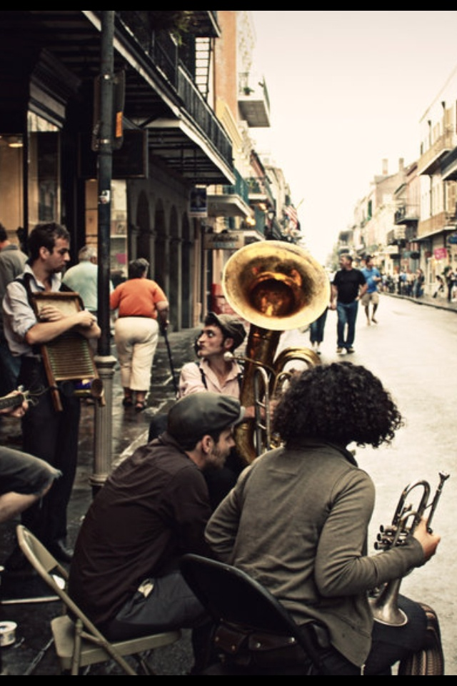 Listen to live jazz in New Orleans, Louisiana. It's one city you've got to experience at least once.