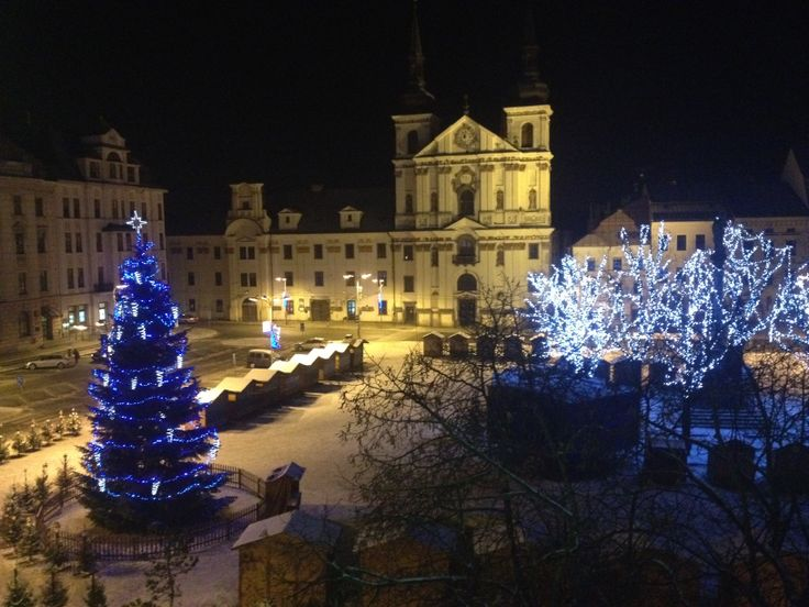 Christmas time in Jihlava, Czech Republic