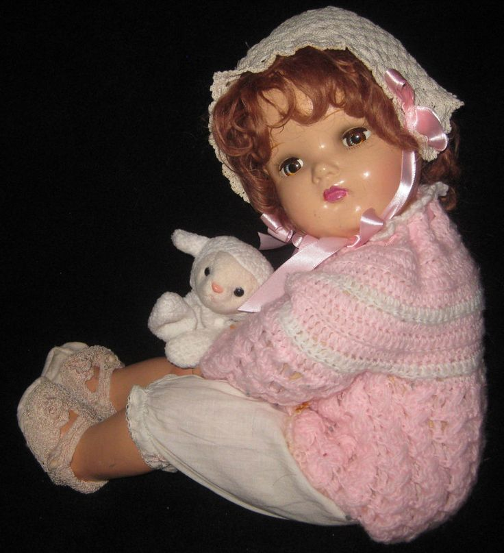 """22"""" ANTIQUE/VINTAGE MADAME ALEXANDER DOLL COMPOSITION/CLOTH - vintage clothes 