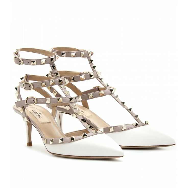 white color Valentino shoes ideas 2014 for women