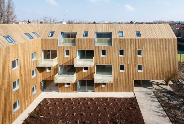34 Social-housing Units In Bondy - Picture gallery