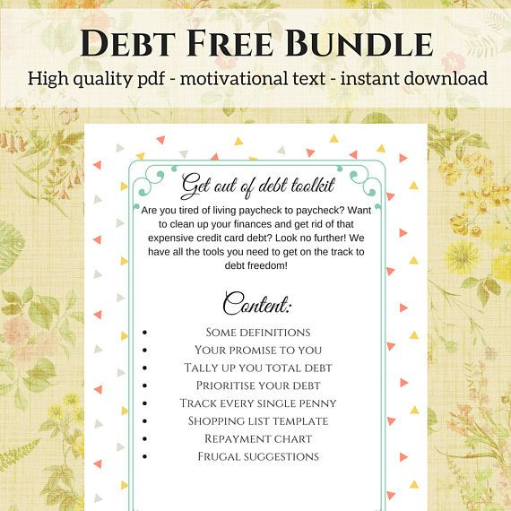 This colourful bundle is aimed at you who know you have too much debt, but have been reluctant to face it. With this colourful pdf, full of tools to help you get started, personal finance becomes cheerful again. Content includes: - Important definitions - Your promise to you