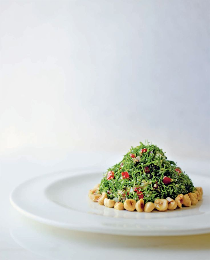 Tabbouleh with roasted hazelnuts recipe from New Middle Eastern Food by Greg Malouf | Cooked