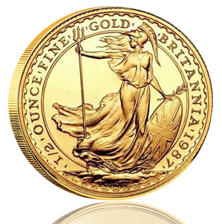 """I år är det 30 år sedan Storbritanniens första Britannia-mynt i guld såg dagens ljus och 20 år sedan """"lillasystern"""" i silver blev lanserad. Tillsammans med det berömda guldmyntet Sovereign har det legendariska Brittania redan lyckats att bli ett av de mest kända mynten i England. Motivet av Brittania är en personifiering av England där hon symboliserar nationens olika ideal och värden genom historien."""