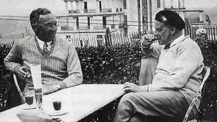 Klee and Kandinsky at the Bauh