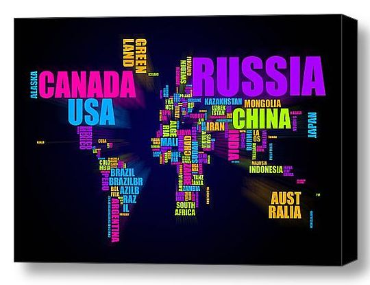 11 best typography images on pinterest typography cards and maps map of the world words i wonder if i can make gumiabroncs Gallery
