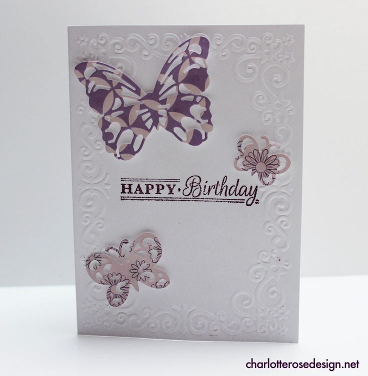 Trying out the new Gemini Die Cut and Embossing machine. Birthday card design.