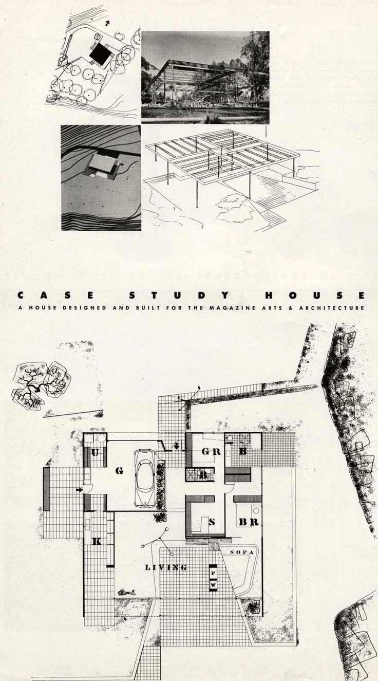 Case Study House Number Nine, by Charles Eames and Eero Saarinen