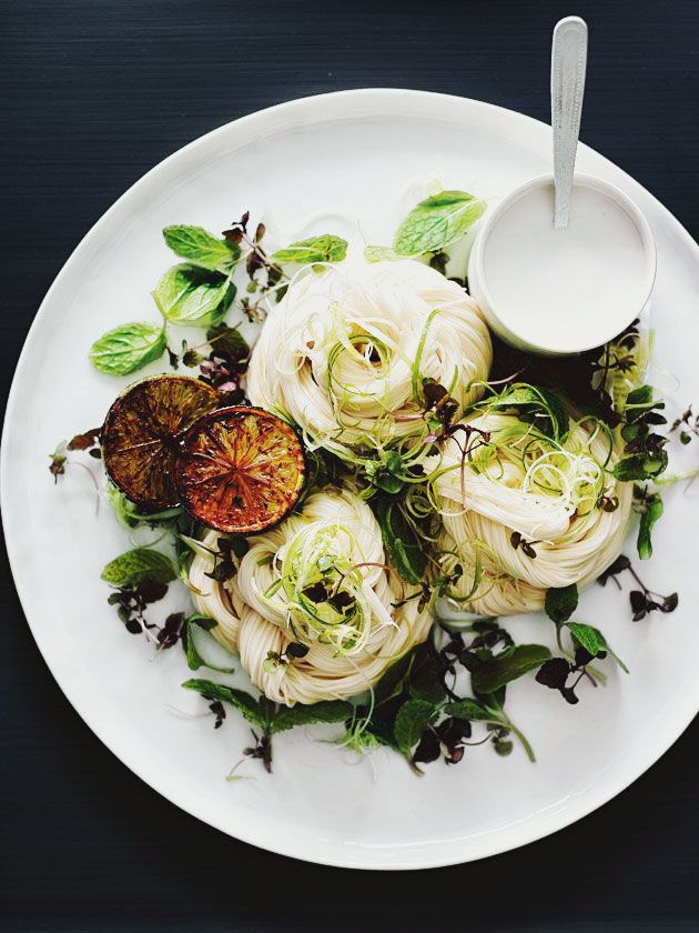 Recipe : Coconut Noodle Salad with Caramelised Limes by Donna Hay