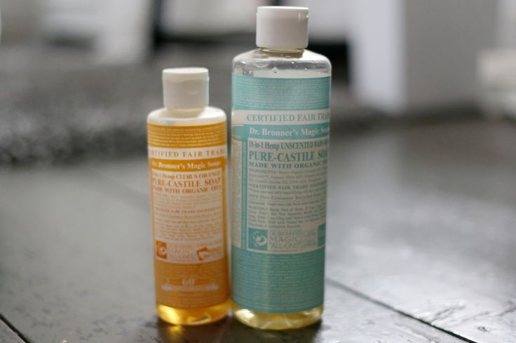How to Use Dr. Bronner's Soap.  My new go to Lavender.