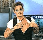 Johnny Depp tatuaje