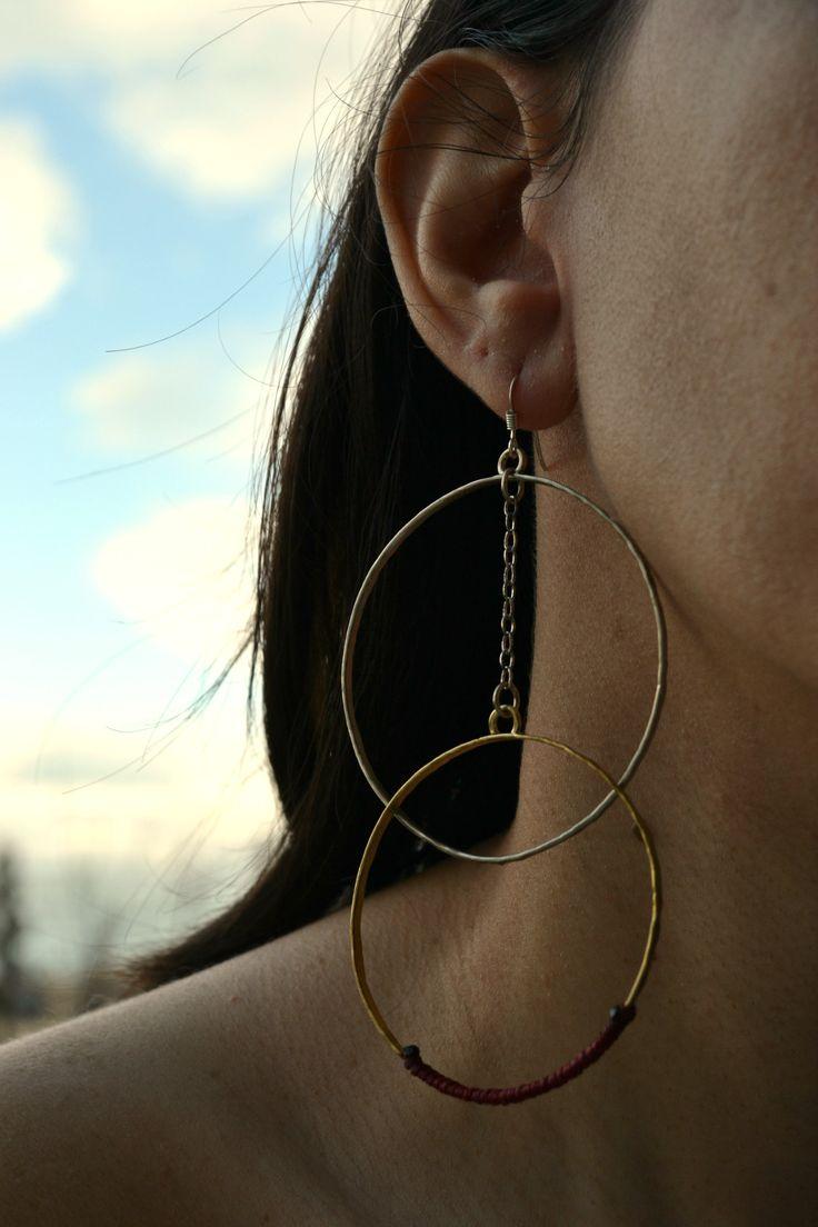 Mettalic earring.... by Efstathia