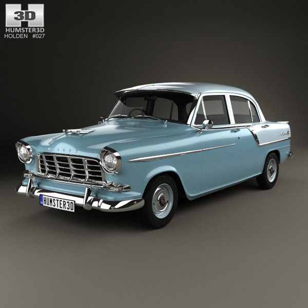 Holden Special 1958 3d model from Humster3D.com.