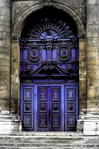 beautiful portals; purple <3