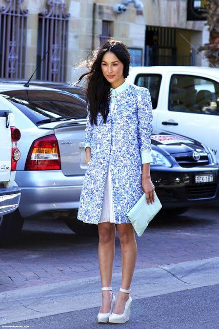 Nicole Warne, Blogger Gary Pepper Girl