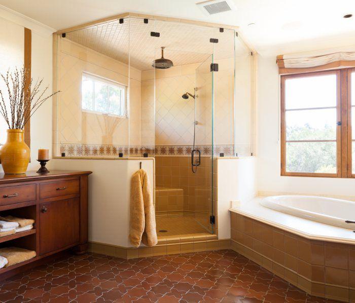 Bathroom Tiles Styles 35 best shower styles: pony wall tile images on pinterest