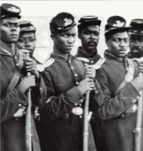"Black soldiers - I always think of the movie ""Glory"" when I see this picture.: Civil Wars, American Civil War, American History, Black Soldiers, Africans American, War Soldiers, Black History, The Civil War, American Soldiers"