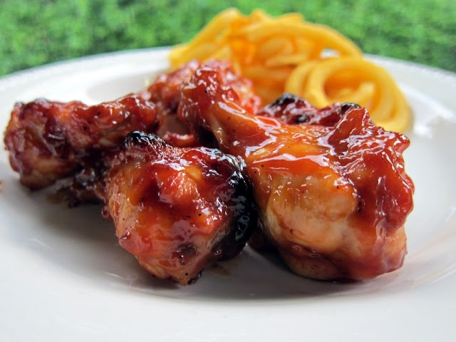 Brown Sugar BBQ Wings - Football Friday | Plain Chicken