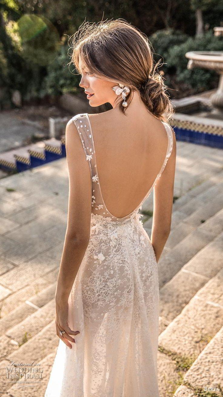 требуется свадебные платья с открытой спиной фото хорошо