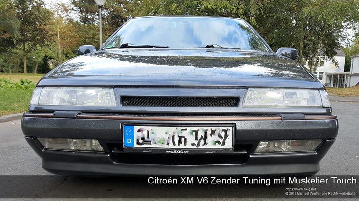 Citroën XM V6 Zender Tuning mit Musketier Touch - https://www.bxig.net/citroen-xm-v6-zender-tuning-mit-musketier-touch/  Einige von euch kennen bestimmt den Y3 XM V6 aus dem damaligen Musketier Prospekt:        Zwar habe ich mich bei meinem XM für das Zender Tuning KIT entschieden, da dies Y4 typischer war, dennoch war ich immer stark daran interessiert diese bronzefarbenen Zierleisten hin zu bekommen.  von Michael Werth