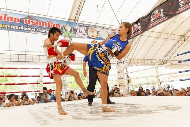 Thai Female Kick Boxers