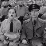 Charlie Chaplin as the Jewish barber, who nervously impersonates The Great Dictator    http://famousclowns.org/famous-clowns/great-dictator-photos/
