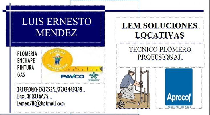 PLOMERIA LEM LOCATIVAS REFORMAS Y REPARACIONES