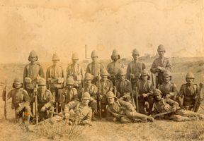Regulars and Volunteers in the Boer War - British Empire Soldiers